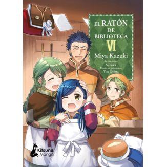 El Raton de Biblioteca #06 Manga Oficial Kitsune Manga