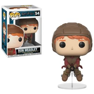 Funko Ron on Broom Harry Potter