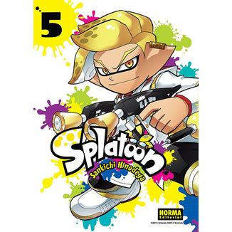 Splatoon #05 Manga Oficial Norma Editorial