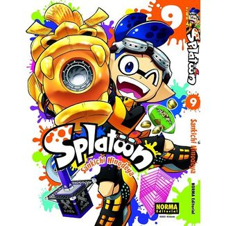 Splatoon #09 (Spanish) Manga Oficial Norma Editorial