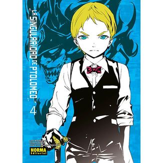 La Singularidad de Ptolomeo #04 Manga Oficial Norma Editorial