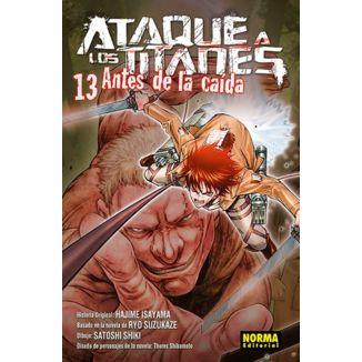 Ataque a los Titanes: Antes de la Caída #13 Manga Oficial Norma Editorial