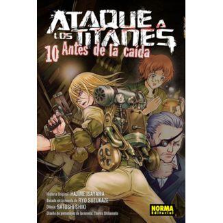 Ataque a los Titanes: Antes de la Caída #10 Manga Oficial Norma Editorial