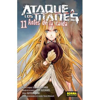 Ataque a los Titanes: Antes de la Caída #11 Manga Oficial Norma Editorial