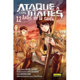 Ataque a los Titanes: Antes de la Caída #12 Manga Oficial Norma Editorial