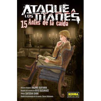 Ataque a los Titanes: Antes de la Caída #15 Manga Oficial Norma Editorial