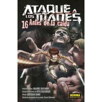 Ataque a los Titanes: Antes de la Caída #16 (spanish) Manga Oficial Norma Editorial