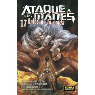 Ataque a los Titanes: Antes de la Caída #17 (spanish) Manga Oficial Norma Editorial