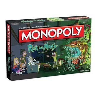 Monopoly Rick y Morty *English Edition*