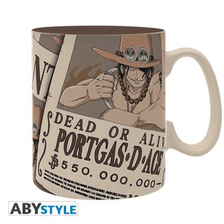 Wanted Portgas D. Ace Mug One Piece
