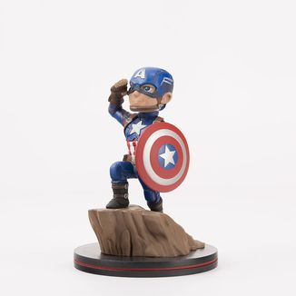 Figura Capitan America Civil War Q-Fig