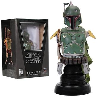 Figura Star Wars Classics - Boba Fett Collectible Bust