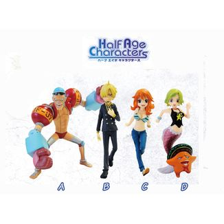 Figura One piece - Half age Characters - Vol.3