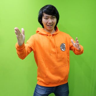 Sudadera Kanji Kame Dragon Ball Z