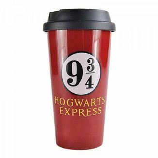 Taza de viaje Andén 9 3/4 Harry Potter