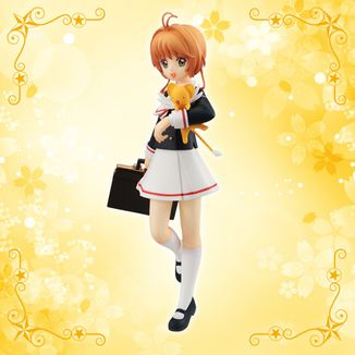 Figura Sakura Kinomoto Tomoeda High School Card Captor Sakura Clear Card