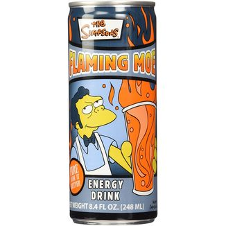 Flaming Moe Energy Drink The Simpson