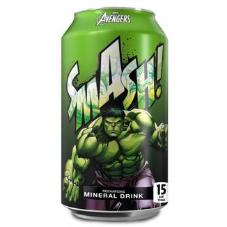 Bebida Soda XXL Hulk Smash! Marvel Comics
