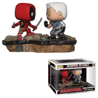 Funko POP! Deadpool vs Cable Deadpool 2 Movie Moments