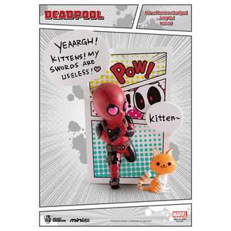 Figura Deadpool Jump Out 4th Wall Mini Egg Attack Marvel Comics