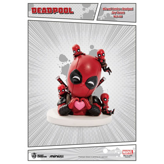 Figura Deadpool Day Dream Mini Egg Attack Marvel Comics