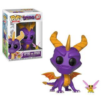 Funko POP! Spyro & Sparx Spyro the Dragon