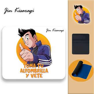 Jin Kisaragi Mousepad Toma Tu Alfombrilla y Vete