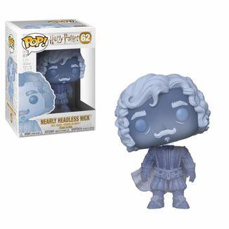 Funko POP! Nearly Headlless Nick Blue Translucent Harry Potter