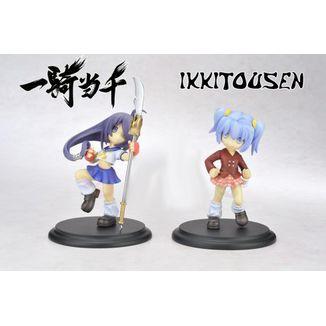 Figura Ikki Tousen - Kanu Unchou & Ryofu Housen - Micro Pop Show