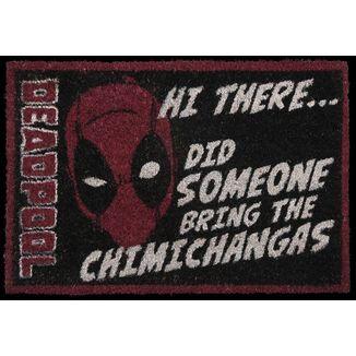 Felpudo Deadpool Chimichangas Marvel