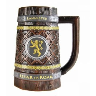 Jarra de Juego de Tronos casa Lannister Ver. Madera