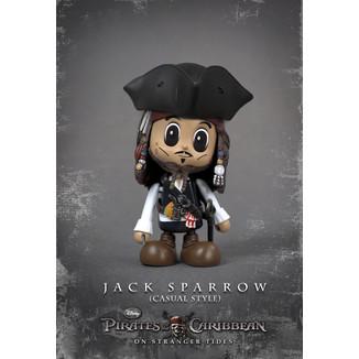 Figura Piratas del Caribe - Jack Sparrow Casual Style Ver - Hot Toys