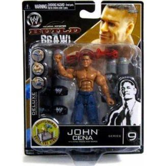 Figura WWE wrestling -John Cena - Build n' brawl series 9