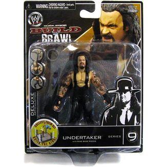 Figura WWE wrestling - Undertaker - Build n' brawl series 9