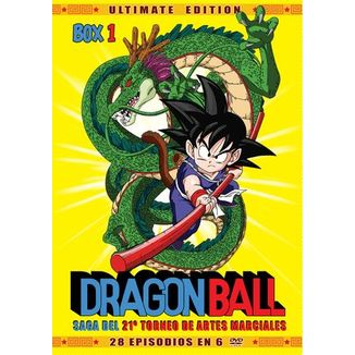 Dragon Ball Ultimate Edition Box 1 DVD