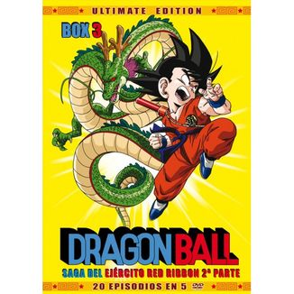 Ultimate Edition Dragon Ball Box 3 DVD