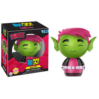 Figura Teen Titans Go! - Beastboy Limited Chase Edition - Funko Dorbz