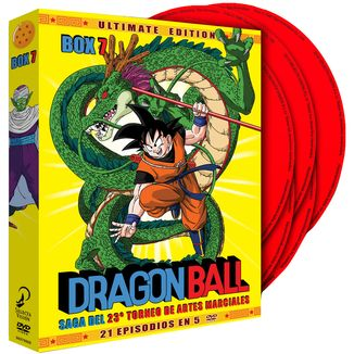 Dragon Ball Ultimate Edition Box 7 DVD