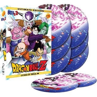 Ultimate Edition Dragon Ball Z Box 2 DVD