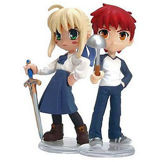 Figure Fate Stay Night - Saber & Shiroh - PalmScenery