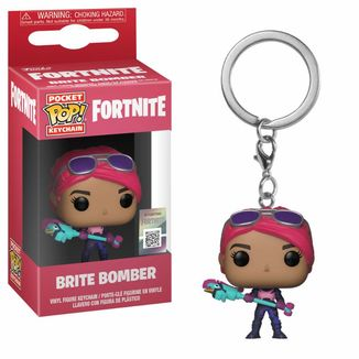 Brite Bomber Keychain Fortnite POP!