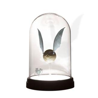 Lámpara Snitch Dorada Harry Potter