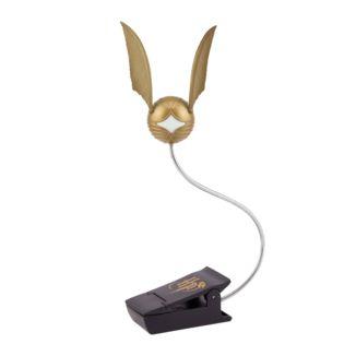 Lámpara 3D Clip Snitch Dorada Harry Potter