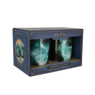 Set Vasos Patronus lily y Snape Harry Potter