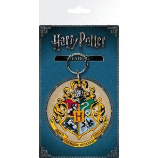Hogwarts Harry Potter emblem keychain