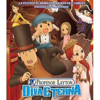 Profesor Layton Y La Diva Eterna DVD