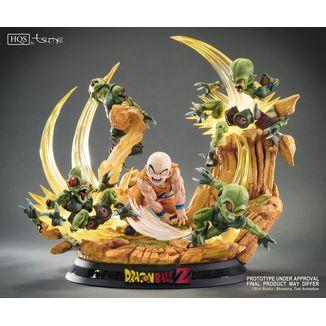 Estatua Krillin Chap 0: Heroes in Terror HQS Dragon Ball Z