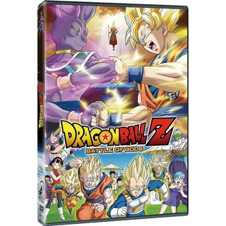 DVD Dragon Ball Z: Battle Of Gods