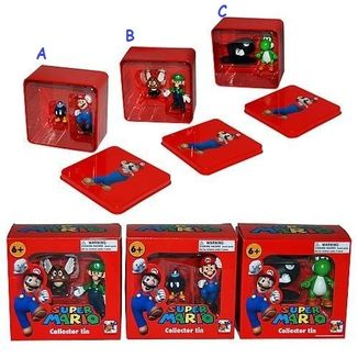 Figure Super Mario - Collector Tin