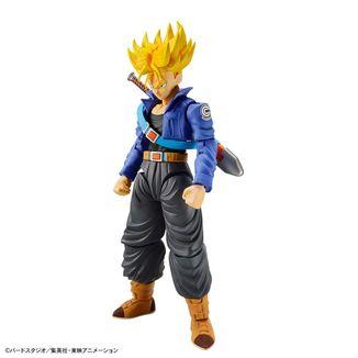 Model Kit Super Saiyan Trunks Dragon Ball Z Super Rise Standard